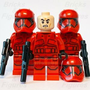 3 x New Star Wars LEGO® Sith Trooper Final Order Minifigure from set 75256 75266