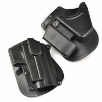 Right Handed Gun Paddle Holster Magazines Low Profile Hidden For Hunting