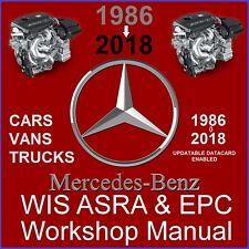 2018 Mercedes WIS ASRA & EPC Service Repair Workshop Manual Download Complete
