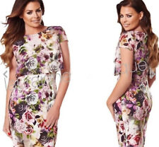Lipsy Jess Wright 10 Floral Multi Two in One Summer Dress BNWT.