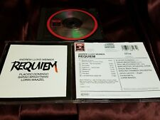 Andrew Lloyd Webber: Requiem - Placido Domingo/Sarah Brightman! Like new!