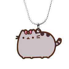 Pusheen Necklace - Pretty Bow - Pusheen the Cat Jewellery Official Cute Kawaii