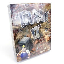 Trash It for PC CD-ROM in Big Box by Rage Software, 1997, Sealed, BNIB