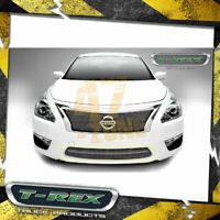 For 2013-2015 Nissan Altima Grille Chrome Front Stainless Steel Overlay