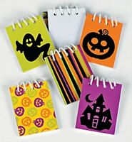Pack of 24 - Mini Iconic Halloween Spiral Notebooks - Party Bag Fillers