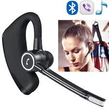 Ear Hook Bluetooth Headset Handsfree Headphone HD MIC For Samsung iPhone 8 7 6S