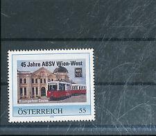531201/ Österreich PM ** MNH Strassenbahn  ABSV Wien