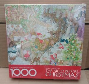 Springbok 1975 Twas' The Night Before Christmas 1000 Piece Factory Sealed Puzzle