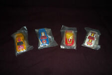 Lot of 4 Vintage Rare MIP Hot Wheels Blackwall Polybag Getty Promo Cars Sealed