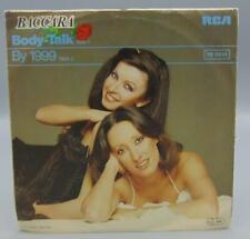 Baccara Body-Talk/By 1999 45 RPM PB-5635 RCA Victor Records