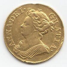 1714 Anne Gold Guinea - Ex Mount