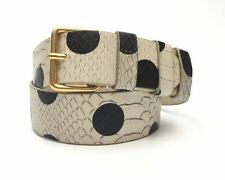 Nordstrom  Rack Marc By Marc Jacobs Snake Skin Pattern  W/B Leather Belt $148