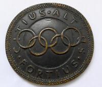 Große Medaille auf den Olympischen Kongress Berlin 1930 RAR