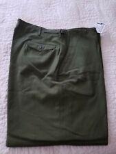 50's era wool M-1951 field trousers, Xl Reg, Usgi, military surplus pants