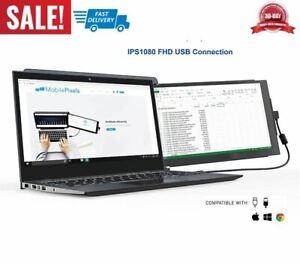 "monitor portátil para portátiles de 12.5"" full HD IPS USB extensor dual pantalla"