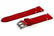 ColaReb Vintage MATERA red Made in Italy watch strap