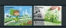 Belarus 2016 MNH Europa Think Green 2v Set Ecology Windmills Bicycles Stamps