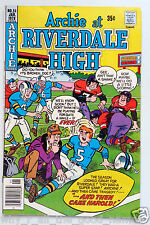 ARCHIE At RIVERDALE HIGH 35¢ Fawcett Comic 51 January 1978 - 1972 Series - 06966