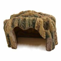 1X(Turtles Reptiles Resin Hiding Home Cave Ornament Habitat for Aquarium Q9 Q8W7