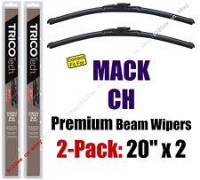 Wiper Blades 2-Pack Premium - fit 1989-2005 Mack CH - 19200x2