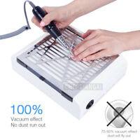 Nail Drill Art Dust Suction Collector Manicure Machine Filing Acrylic UV Gel Tip