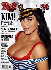 NEW Rolling Stone Magazine Kim Kardashian USA Newsstand Edition No Mailing Label