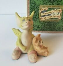 """""""Drowsy Dragon"""" Whimsical World of Pocket Dragons by Real Musgrave with Box"""