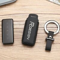 Leather Key Cover Car Key Fob Bag Case Wallet Holder for Volvo S90 V90 XC90