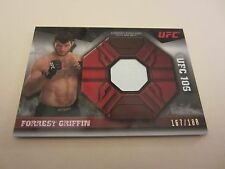 Forrest Griffin 2013 Topps UFC Knockout Fight Mat Relics #FMRFG #'d 167/188 MMA