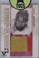 Dany Heatley 2007-08 ITG Heroes And Prospects Memorabilia Vault 1 of 1 Ottawa