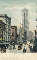 NEW YORK CITY – Upper Broadway – udb (pre 1908)