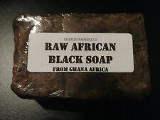 RAW AFRICAN BLACK SOAP(ORGANIC)