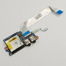 HP ProBook 4530s Audio Sound Card Reader Board mit Kabel