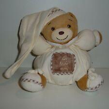 Doudou Ours Kaloo - Collection Les trois ours