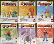 Pokemon Scale World Kanto Region 1/20 Figures - Gen1 Trainer Red Ash Mew Pikachu