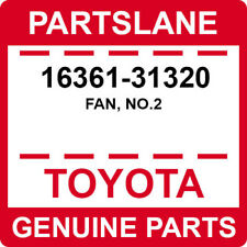 16361-31320 Toyota OEM Genuine FAN, NO.2