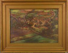 Peintures du XXe siècle et contemporaines huiles signés architecture