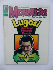 Famous Monsters of Filmland Sept 1972 Horror Comic Magazine Lugosi Special Issue