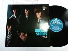 ROLLING STONES VOL.2 JAPAN JUST ORIGINAL FIRST ISSUE MH-197 LONG PLAYING LOGO