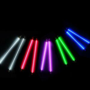 "2PCS 6"" 12"" Car Blue Undercar Underbody Neon Kit Lights CCFL Cold Cathode Tube"
