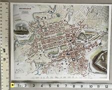 OLD ORDNANCE SURVEY DETAILED MAPS SHOEBURYNESS ESSEX 1895 SHEET 79.13 NEW