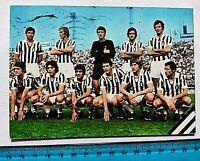 CARTOLINA VIAGGIATA JUVENTUS 1972-1973 72-73 ZOFF CAPELLO CAUSIO BETTEGA FURINO