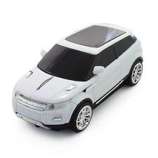 White 2.4GHZ Wireless Land Rover Range Evoque Car Shape Optical Mice Xmas gift