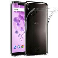 Coque Pour WIKO VIEW 2 GO Étui Transparent Silicone TPU + Verre Trempé