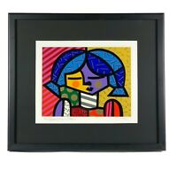 ROMERO BRITTO Country Girl Limited Edition Girls Suite 299/300 Signed Giclee
