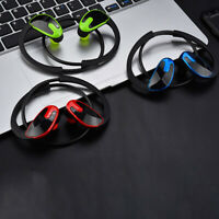 USA Bluetooth In-ear Wireless Mega *Bass Anti-Sweat Headset Noise-Down Headphone