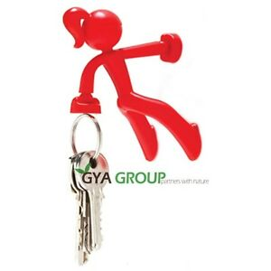Key Petite, the magnetic Girl by Peleg Design Red Color