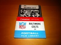 1969 ? NFL Film Library football 8mm Cragstan film Baltimore Colts RARE!