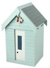 Cajas, tarros y latas decorativos color principal azul de madera para el hogar