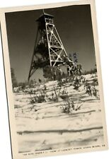 PC CPA AUSTRALIA, SNOW AT LOOKOUT TOWER DONNA BUANG, Vintage Postcard (b27063)